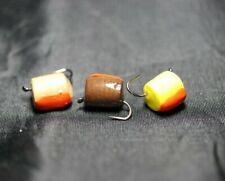 Trout Pellet Flies, 3 Barbless Foam Trout Pellets, For Fly Fishing, Carp Flies .