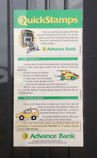 Australia 1994 ATM Triangle Unfolded Booklet Advance Bank MNH