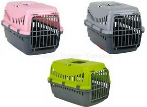 PET CARRIER -DOG -CAT -PUPPY -BASKET -PORTABLE TRAVEL -CAGE -VET WITH DOOR - BAG