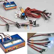RC LED Lighting System Kit Brake Headlight Signal Light Truck Car Buggy 1/10 PPM