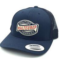 MALTEUROP Malting Company Hat Cap Great Falls Montana Pride Snapback Yupoong NEW