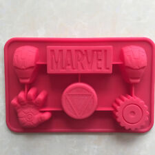 The Ironman Marvel Shape Silicone Cake Mold Budding Jelly Moulds Soap Mold