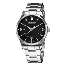 Victorinox Swiss Army Classic Alliance Mens Stainless Steel Watch 241473 NEW