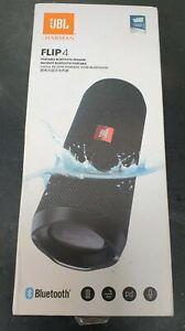 JBL Flip 4 Waterproof Ipx7 Portable Bluetooth Speaker Black