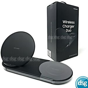 Samsung Duo Fast Charge Compatible Wireless Charger - Black - EP-N6100