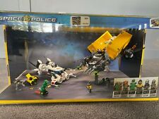LEGO STORE LIT DISPLAY RARE SPACE POLICE-USED