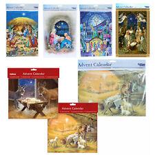 Christmas Countdown Advent Calendar - 24 Windows - Nativity Designs