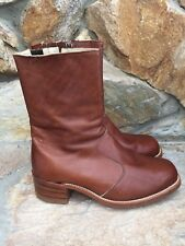 Frye Women's Size 8.5EE Boots 9R03720 Brown Leather VGC