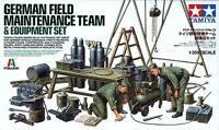 Tamiya 1/35 37023 WWII German Field Maintenance Team & Equipment Set