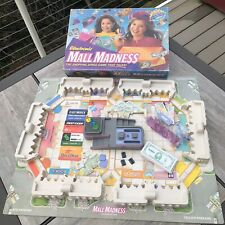 Vintage 1996 Electronic Mall Madness Board Game Milton Bradley Talking Tested