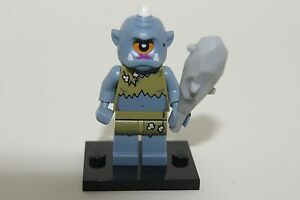 Genuine Lego - LADY CYCLOPS MINIFIGURE / MINFIG + WEAPON - SERIES 13 # 15 AS NEW