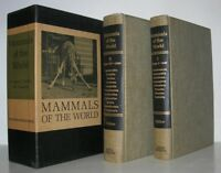 MAMMALS OF THE WORLD - Ernest Walker - First Edition 1st Printing [ Set ]