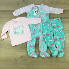 Baby Berry Infant Size 1 One-Piece Sleepsuit Footed Pants Long Sleeve Top (BG2)