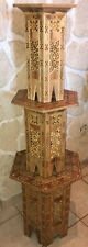 Tables Orientales Gigognes Marqueterie Art Syrien Ancien