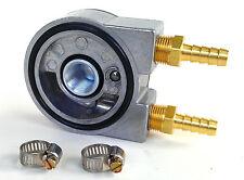 Honda, Yamaha, Motorcycle Full Flow Sandwich Oil Cooler Adapter 20mm-1.5