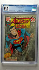 Action Comics #419 CGC 9.4 NM    Partial Photo Cover