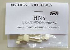 1/160 N SCALE 1955 Chevy Flatbed Dually Resin Kit