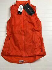 Adidas women's Agravic Terrex Pertex Orange Vest XS NWT