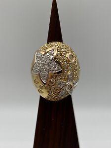 La Nouvelle Bague Solid 18k Gold Ring with Natural Diamonds