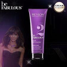Be Fabulous Step 2 - Masque à la Kératine Cheveux Recovery Revlon Cheveux 250 Ml