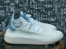 Adidas Pharrell Williams Hu White Knit Tennis Shoes/Trainers  s-8