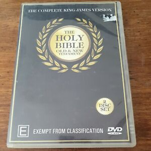 The Holy Bible DVD The Complete King James Version