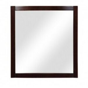 Decolav Wall Mirror Dark Walnut Finish 9712-DWN 3B1