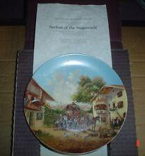 Seltmann Weiden 1986 ANKUNFT DER POSTKUTSCHE - ARRIVAL OF THE STAGECOACH