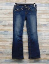 True Religion Jeans 27 x 29 Becky Boot cut Women Stretch Jean       ( B-10 )