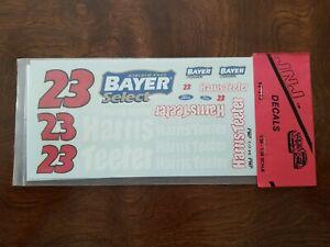 JNJ 273 #23 Bayer Select 1994-Chad Little Nascar decal