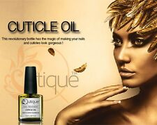 QUTIQUE Cuticle Oil -Use with Gel Nail Polish, Acrylic and Natural Nails