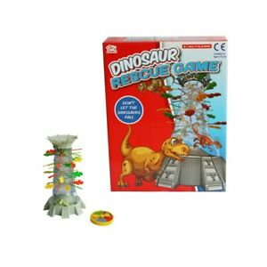 Dinosaur Rescue Drop Marbles Sticks Kids Childrens Family Party Board Game Toy