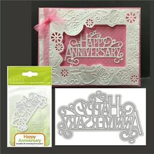 Happy Anniversary metal die - Tonic Studios cutting dies 1248E words,phrases
