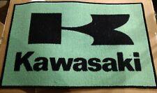 Kawasaki motorcycle ATV logo door mat