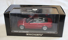 Minichamps 431028030 BMW E46 2000 323i Cabriolet Siena Red Metallic 1:43