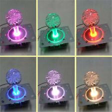 Arcade Game Colorful LED Lights Illuminated Double Plug amusement Machine Rocker