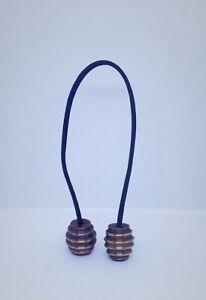 Handmade Solid Brass Begleri EDC Parachute Cord Knife Tool Lanyard Bead pendant