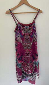 Camilla Franks Desert Discotheque Long Back Overlay Top Size 8 XS