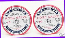 2 Bath & Body Works ROSE SALVE Lip Balm Chap Chapped Knees Hands Cuticles Elbows