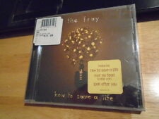 SEALED The Fray CD How To Save A Life DENVER COLORADO Over My Head cable car '05