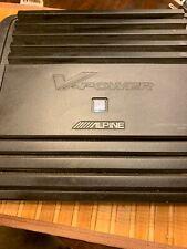 Alpine MRP-M500 1-Channel Car Amplifier 500 Watts V-power.