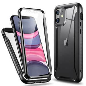 ESR Hybrid Armor 360 Protective Case Cover for Apple iPhone 11 Black