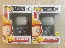 Funko Pop! Heroes: DC Super Heroes-Firestorm & Firestorm brillan en la oscuridad