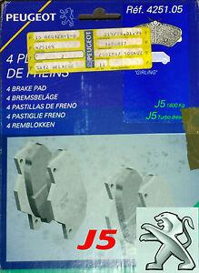 ORIGINAL Bremsbeläge, Bremsklötze Girling OE 425105, Peugeot J5
