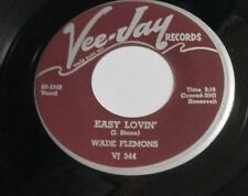 "WADE FLEMONS Easy Lovin 7"" 45 US R&B BLUES LISTEN"