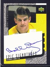 BOBBY ORR Boston Bruins Autographed Upper Deck 1999-2000 Hockey Card