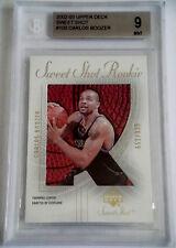 2002-03 Upper Deck Sweet Shot CARLOS BOOZER RC Rare SP Mint BGS 9 #/999