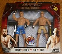 Tito Ortiz Chuck Liddell UFC Jakks Pacific Action Figures Ultimate Battles 3 Set