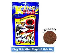 60g Mini-Tropical Micro Pellet Crumbles Fish Food For Baby Guppy, Tropical Fish