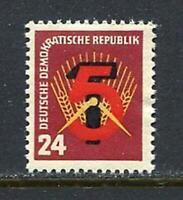 31206) DDR 1951 MNH New Five-Year Plan 1v. Scott #89